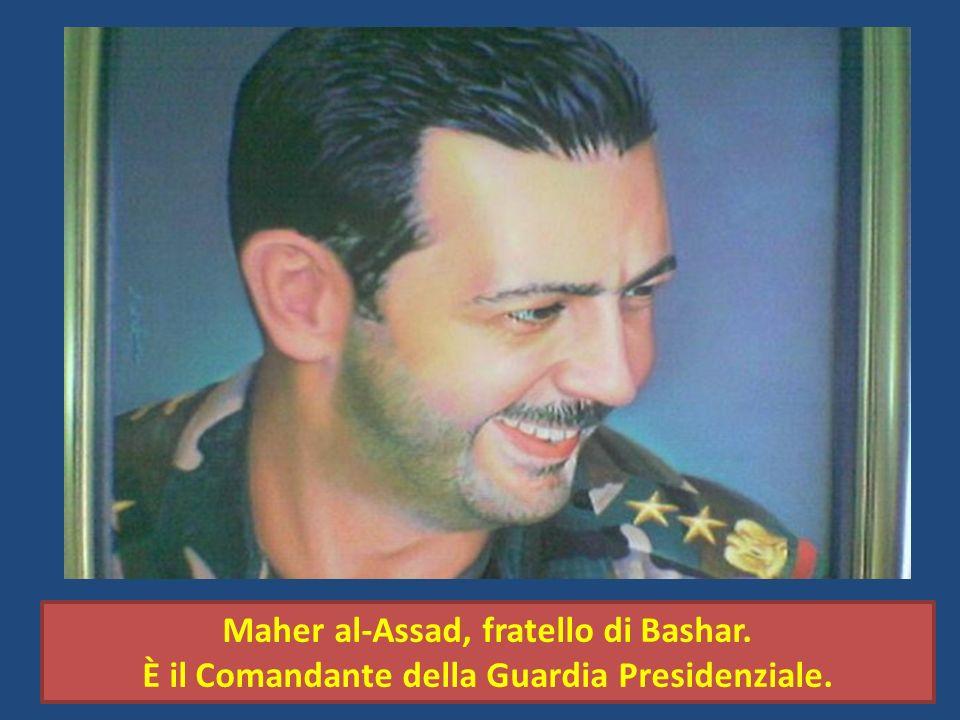 Maher al-Assad, fratello di Bashar. È il Comandante della Guardia Presidenziale.