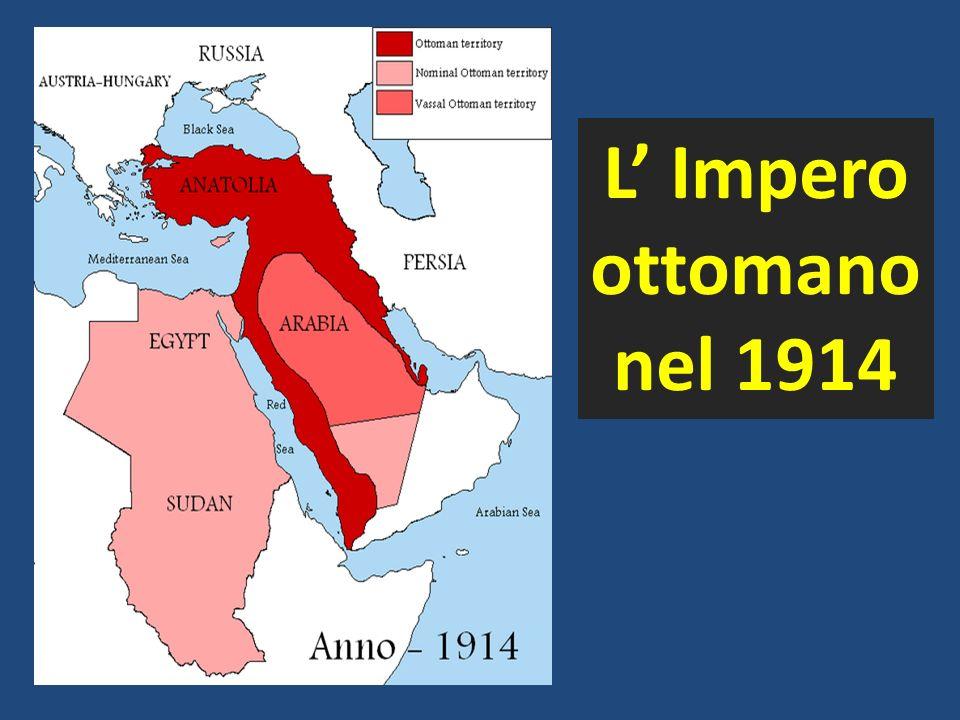L Impero ottomano nel 1914