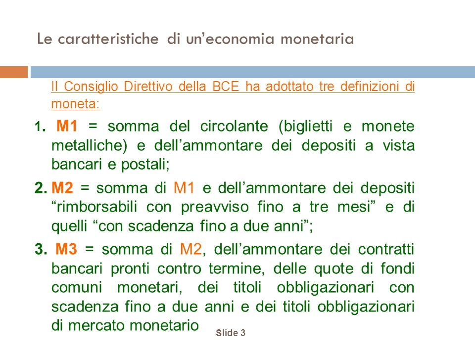 Slide 24 Le determinanti dellofferta di moneta i cr MsMs 0 MsMs M s = M s (BM 0, r, i ml, i db, i cr )
