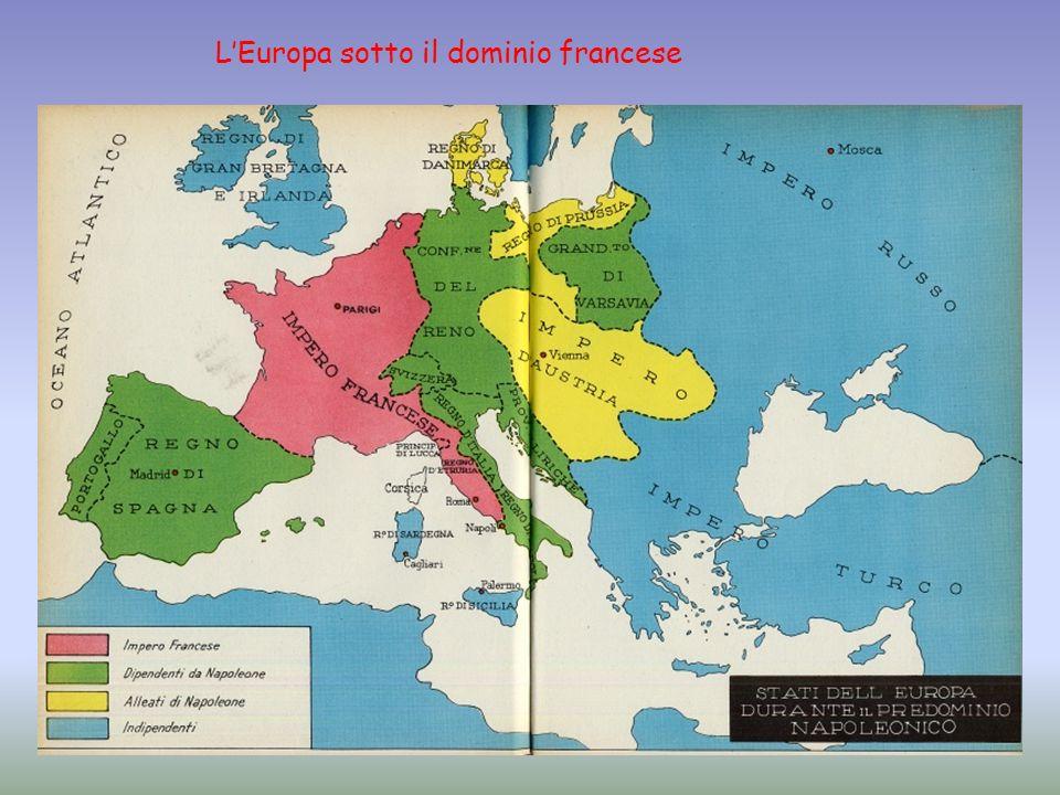LEuropa sotto il dominio francese