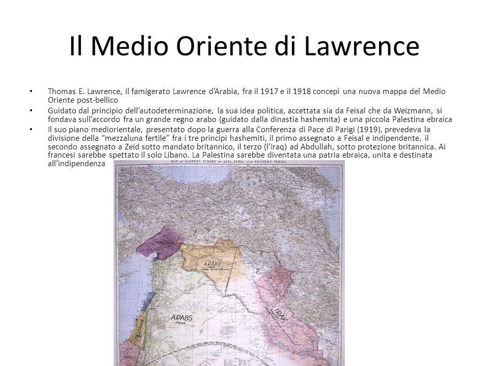 Il Medio Oriente di Lawrence Thomas E.