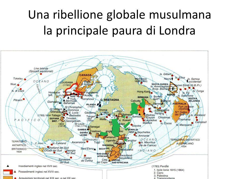 Una ribellione globale musulmana la principale paura di Londra