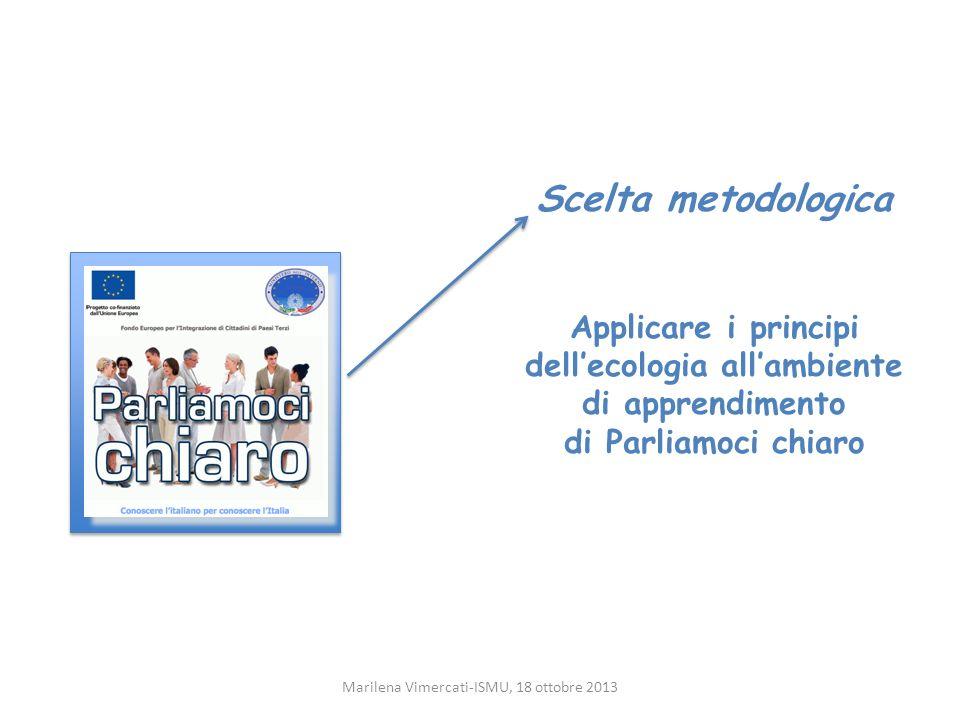 Link a risorse esistenti Risparmio/Riuso Marilena Vimercati-ISMU, 18 ottobre 2013 Materiali specificamente realizzati per insegnare lItaliano agli stranieri e liberamente accessibili in rete http://www.initalia.rai.it/