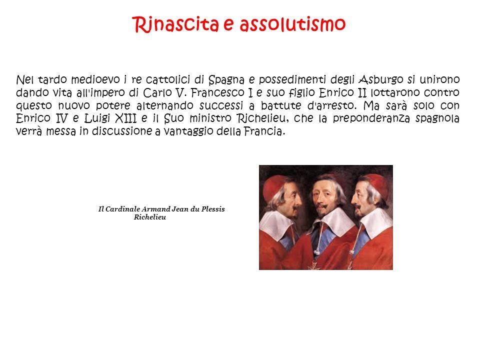 Rinascita e assolutismo Nel tardo medioevo i re cattolici di Spagna e possedimenti degli Asburgo si unirono dando vita all'impero di Carlo V. Francesc