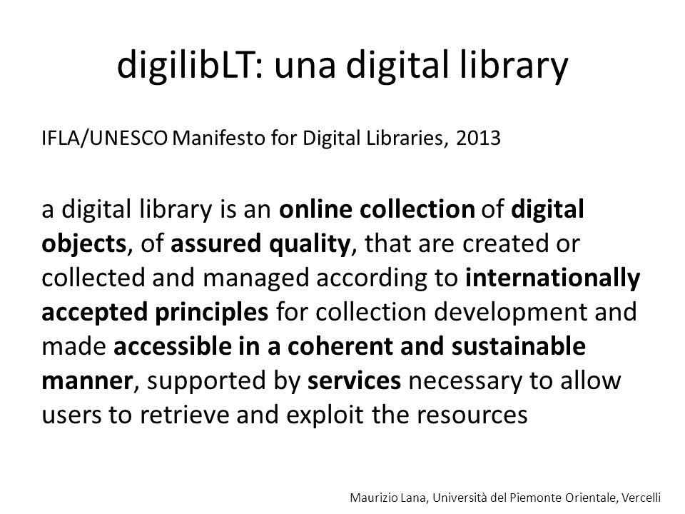 Maurizio Lana, Università del Piemonte Orientale, Vercelli digilibLT la ricerca negli ebook so far, so good now what?