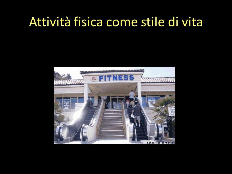 Attività fisica come stile di vita