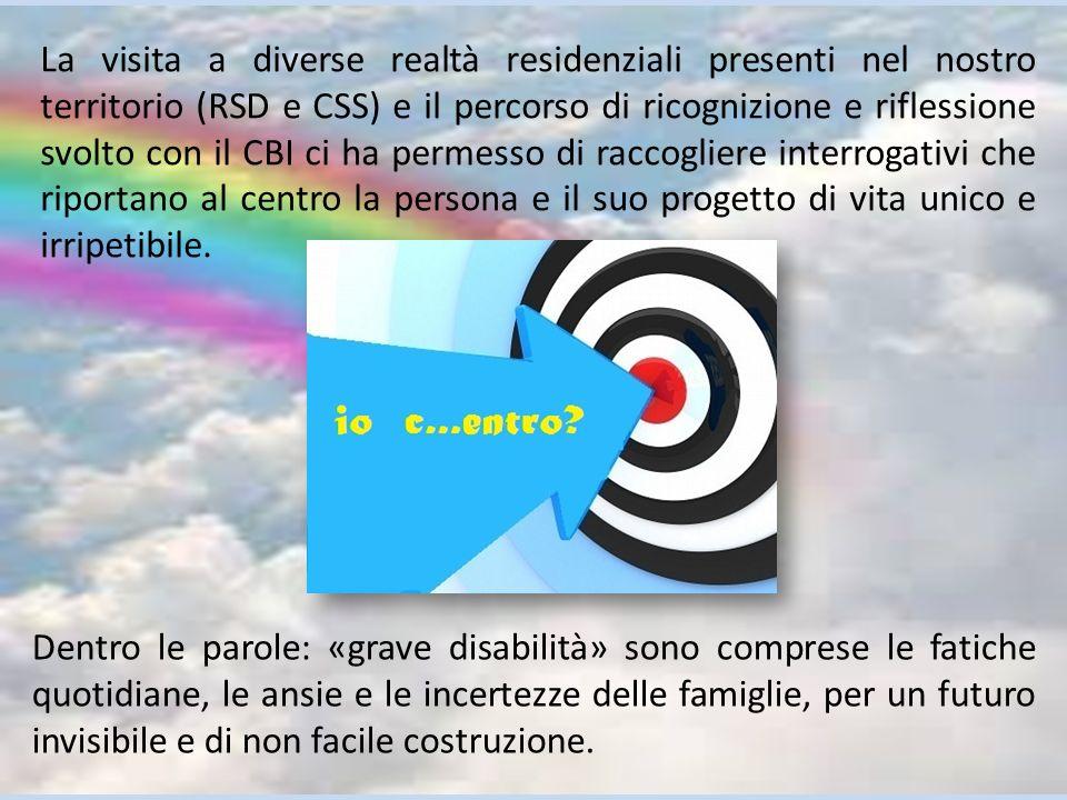 Dentro le parole: «grave disabilità» sono comprese le fatiche quotidiane, le ansie e le incertezze delle famiglie, per un futuro invisibile e di non f