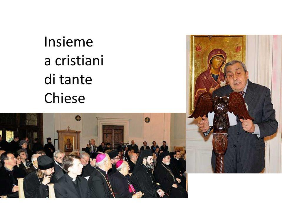 Insieme a cristiani di tante Chiese