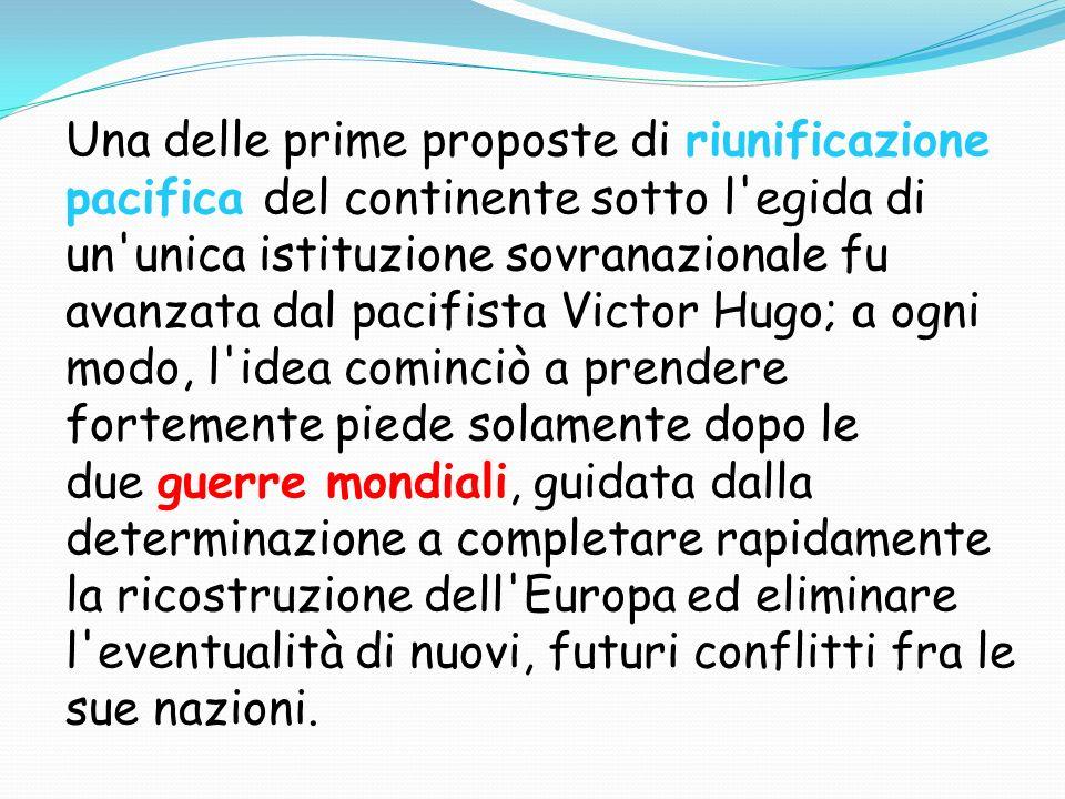 Esemplare in tal senso fu il Manifesto di Ventotene, redatto al confino da Ernesto Rossi e Altiero Spinelli.