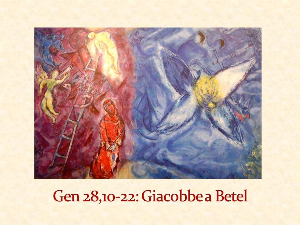 vv.10-11: Introduzione vv.12-13 aα: La visione di Giacobbe vv.