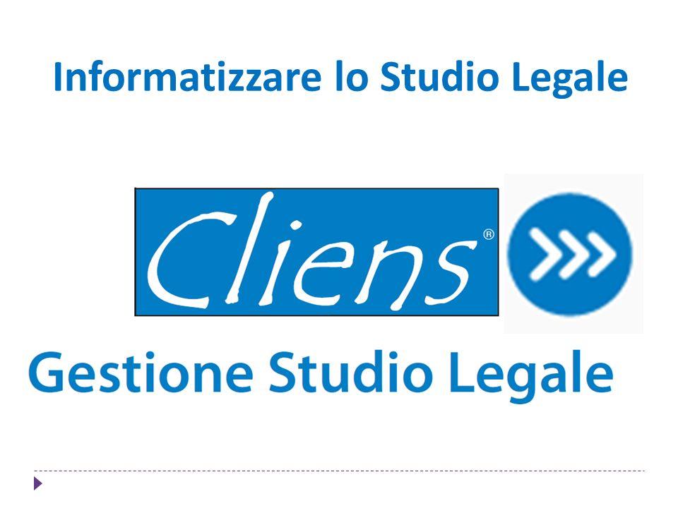 Informatizzare lo Studio Legale