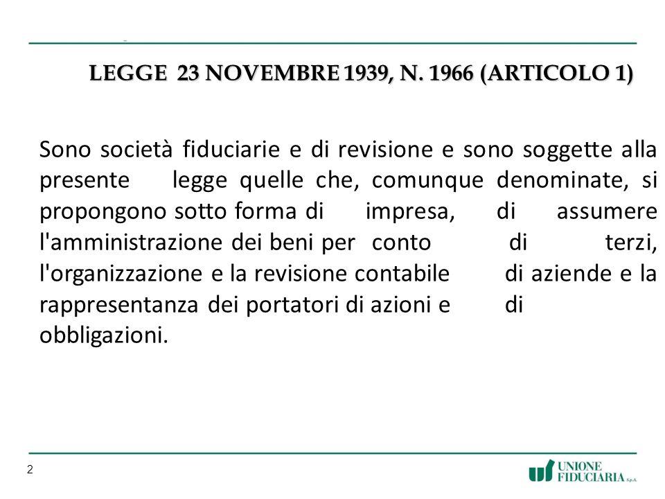 2 LEGGE 23 NOVEMBRE 1939, N.