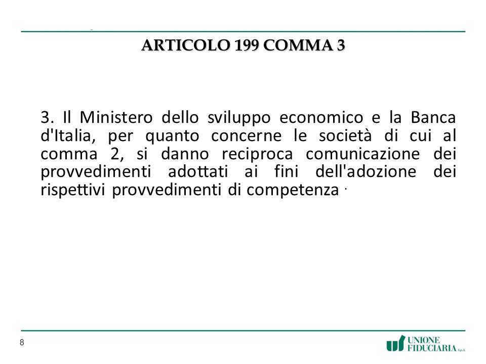 8 ARTICOLO 199 COMMA 3 3.