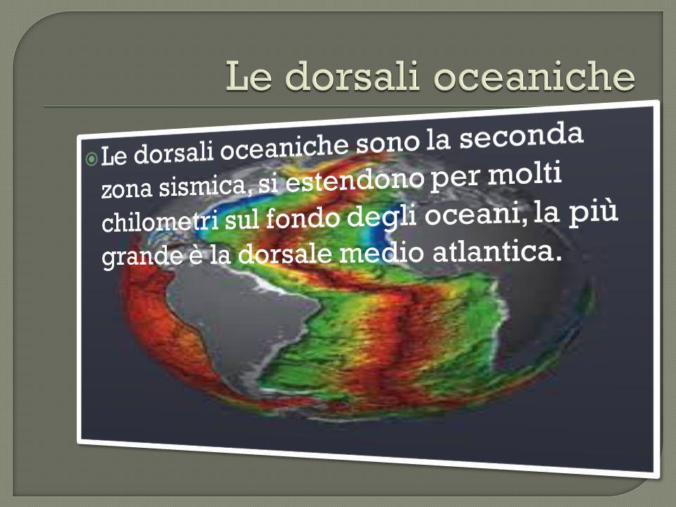 Il mar Mediterraneo è la terza zona sismica, i terremoti hanno luogo soprattutto nelle zone dellAdriatico e dellEgeo.