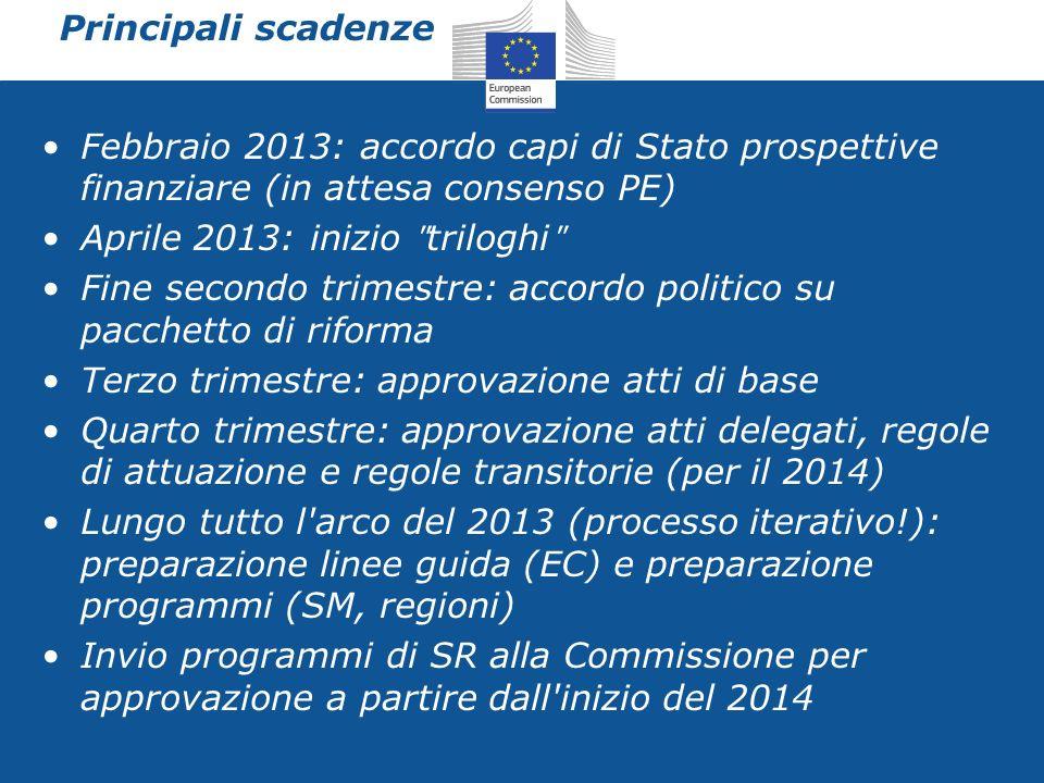 Sviluppo Rurale nel nuovo contesto strategico 2014 – 2020