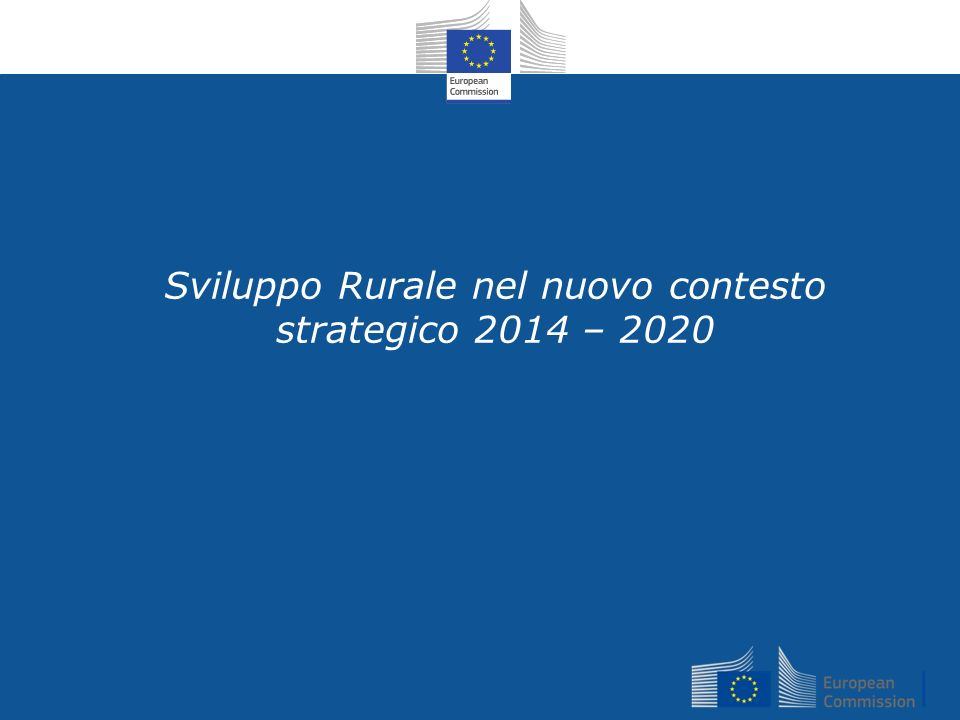 26 Altre iniziative Revisione Strategia Foreste UE (spring 2013): Visione olistica; coerenza politiche forestali; catena di valore; Focus sul ruolo positivo delle foreste dellUE (socio- economico & ambientale) Regulation on quality schemes for agricultural products and foodstuffs (January 2013): Optional quality term for mountain products : raw material and feedstuff essentially from mountain areas; processing taking place in mountain areas (precise conditions to be detailed in delegated acts) study on the Labelling of agricultural and food products of mountain farming (February 2013) http://ec.europa.eu/agriculture/external-studies/2013/mountain- farming/fulltext_en.pdfhttp://ec.europa.eu/agriculture/external-studies/2013/mountain- farming/fulltext_en.pdf