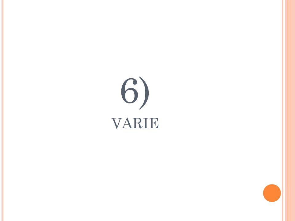 6) VARIE