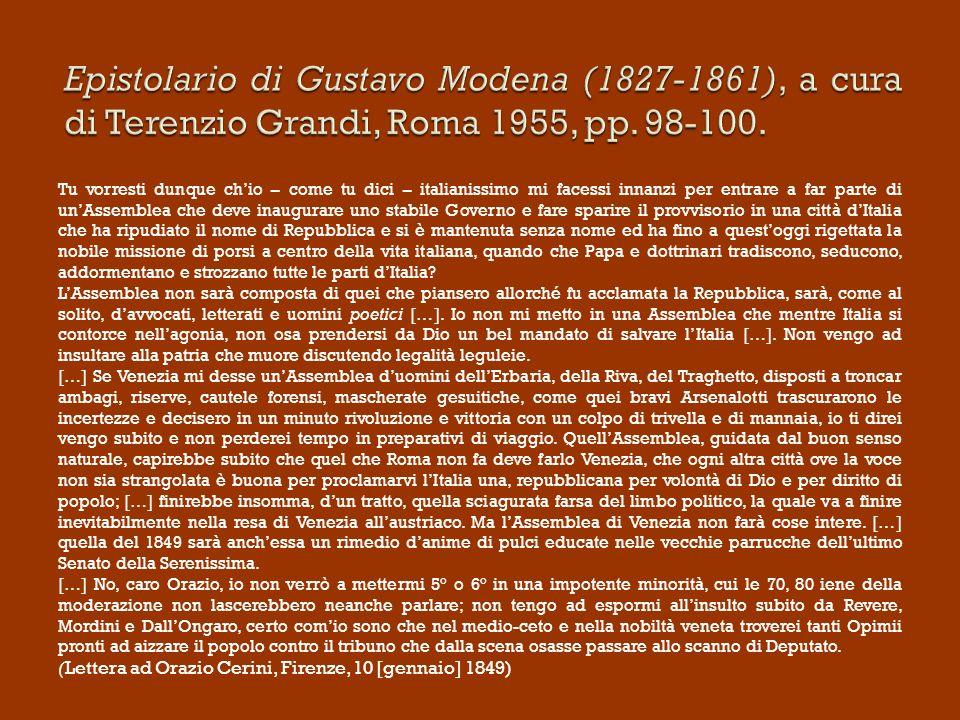Gazzetta Uffiziale di Venezia Altre esperienze hanno vita brevissima e complicata (es.