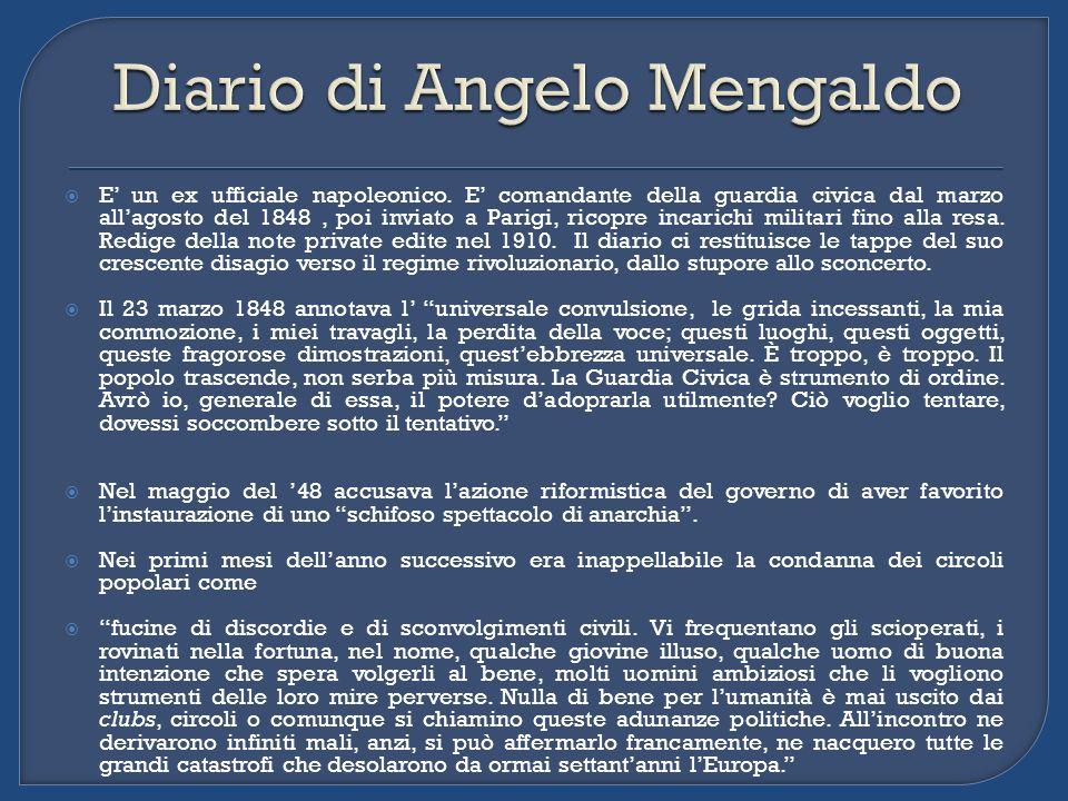[Soggetto del monumento era Manin, ma il Manin del 48] perché é lepoca della sua grandezza, perché quella é lepoca gloriosa del popolo Veneziano […].