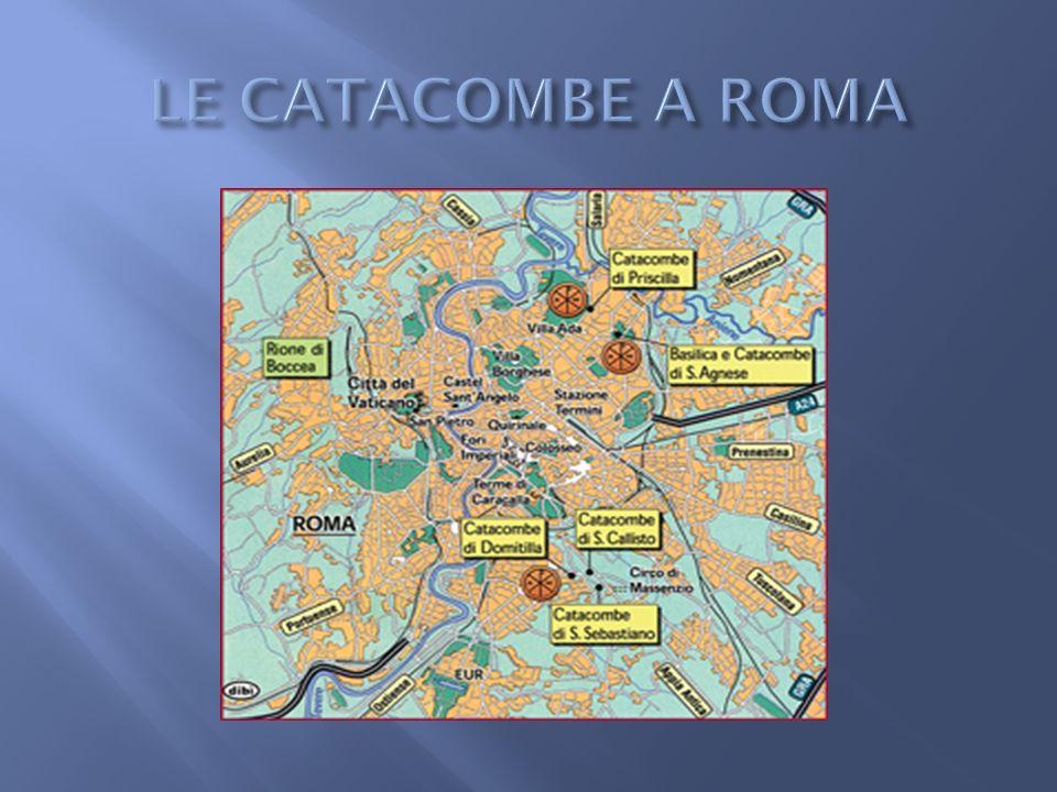 Posta lungo la via Appia Antica, nel quartiere Ardeatino.