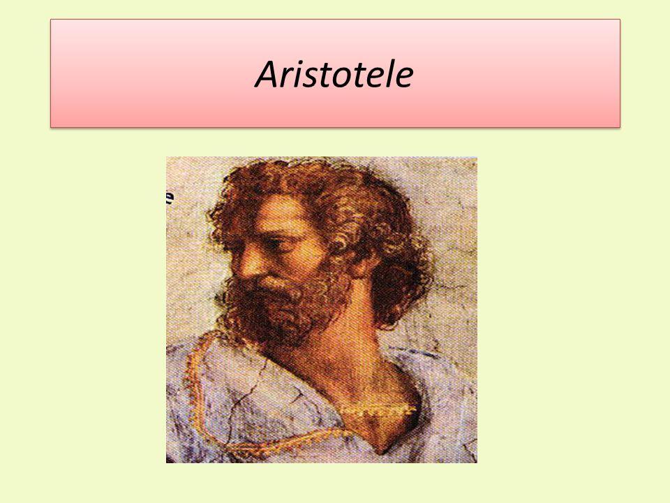 LA VITA Nacque a Stagira nel 384 a.C. E stato un filosofo e scienziato greco antico.