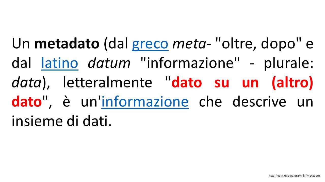 1 - Metadati 2 - Licenze CC e le Politiche 3 - Mosaicatura PRG Francesco.fiermonte@polito.it