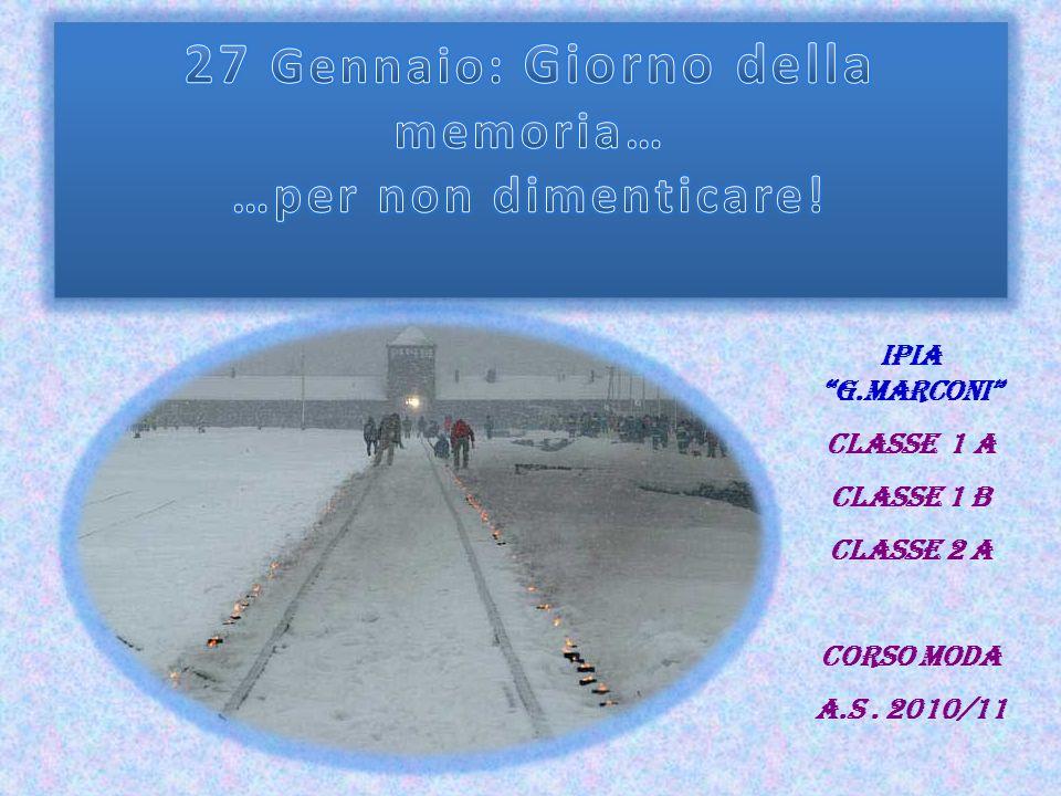 IPIA G.Marconi Classe 1 A Classe 1 B Classe 2 A Corso Moda A.S. 2010/11