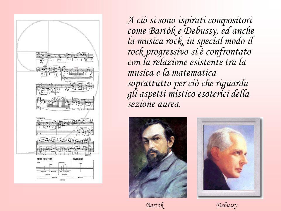 A ciò si sono ispirati compositori come Bartòk e Debussy, ed anche la musica rock, in special modo il rock progressivo si è confrontato con la relazio