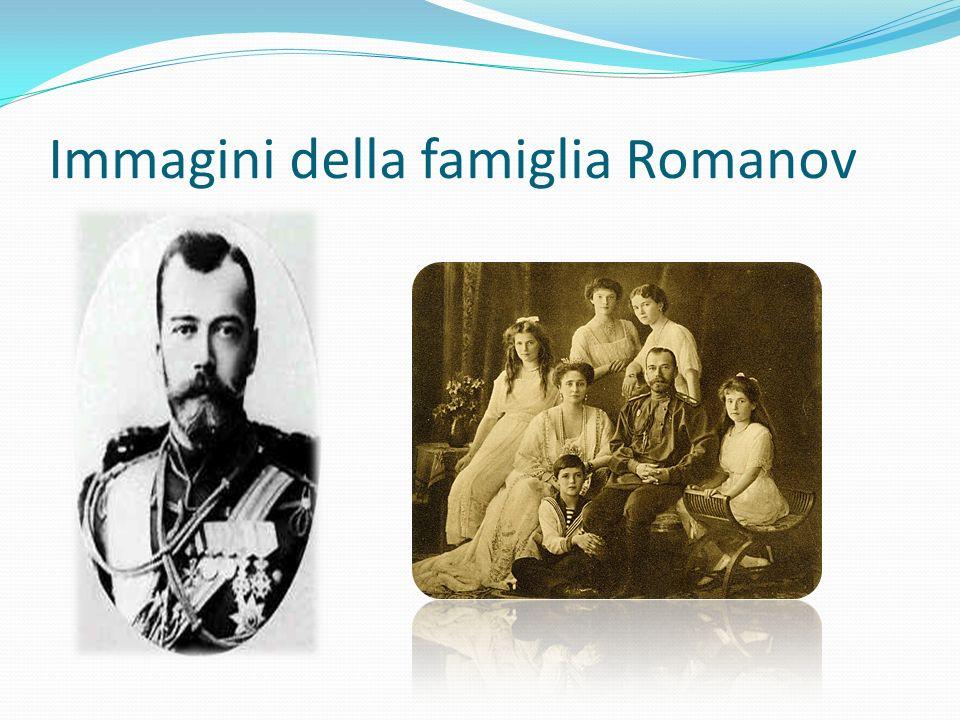 Immagini della famiglia Romanov
