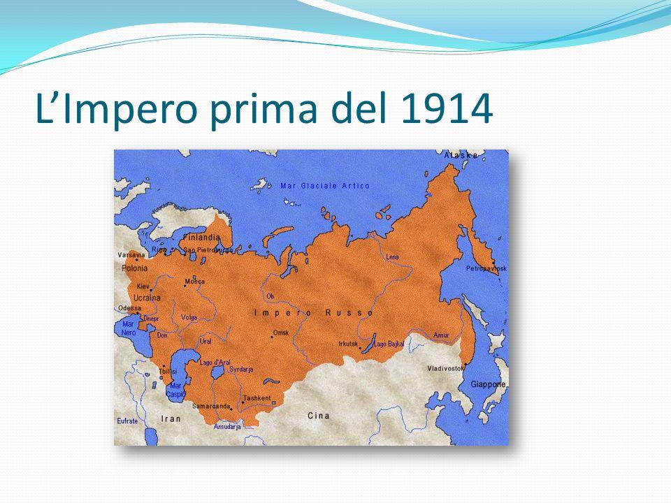 Impero dispotico e arretrato La lingua e la cultura dei russi era stata imposta a tutto l impero.