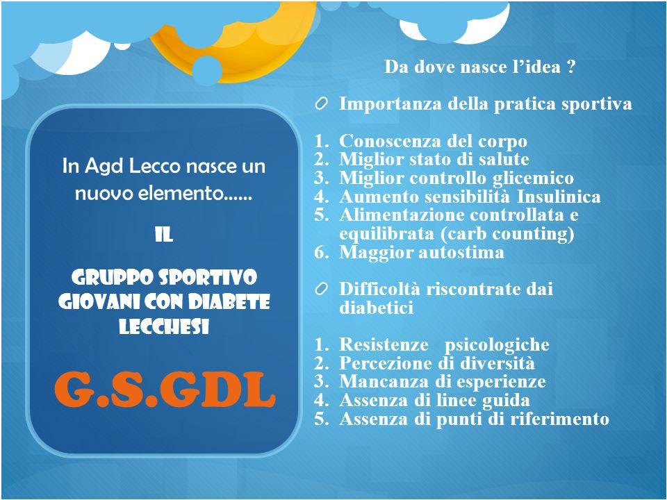 In Agd Lecco nasce un nuovo elemento…… Da dove nasce lidea ? Importanza della pratica sportiva 1. 1.Conoscenza del corpo 2. 2.Miglior stato di salute
