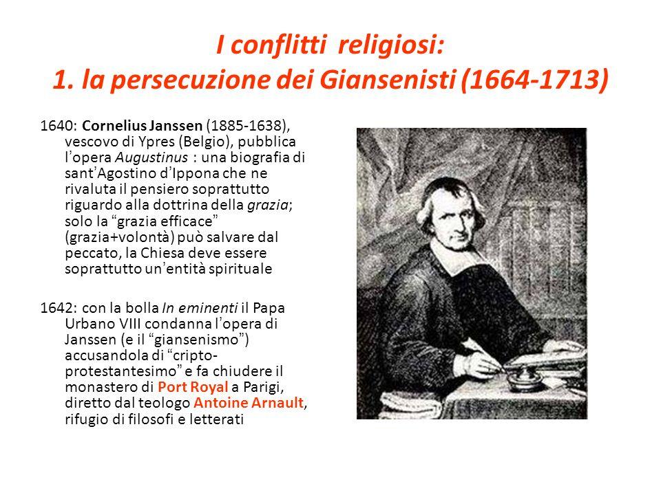 I conflitti religiosi: 1.
