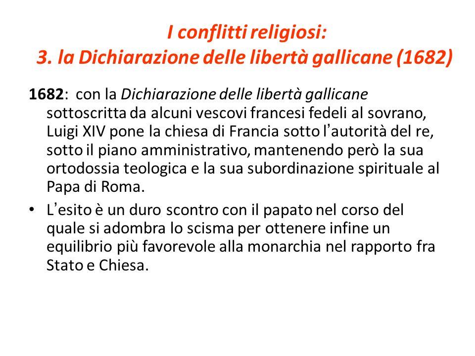 I conflitti religiosi: 3.
