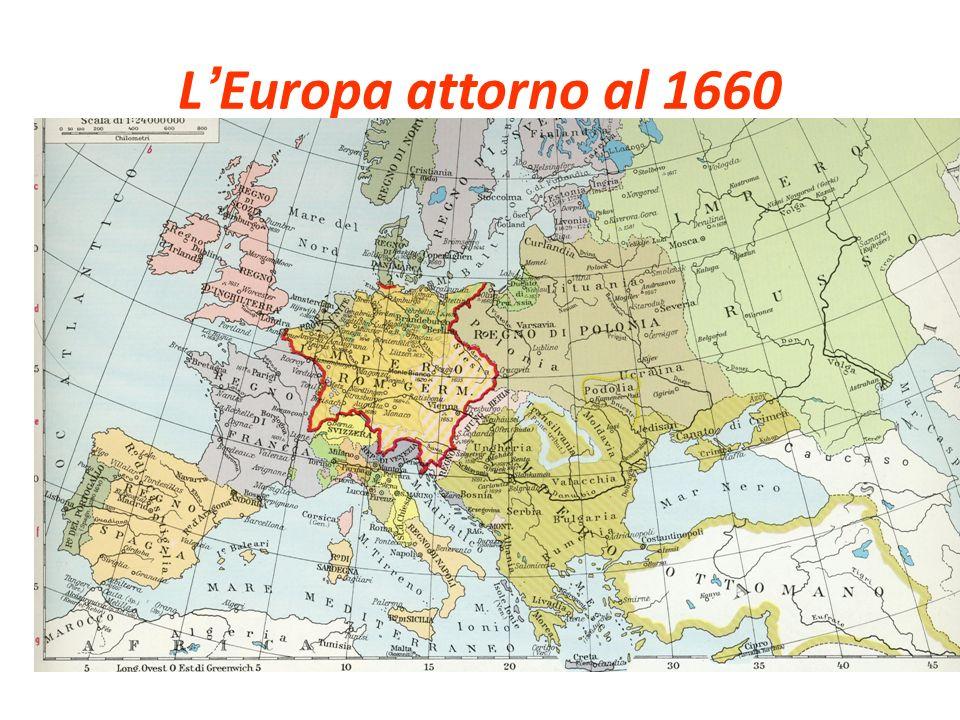 L Europa attorno al 1660