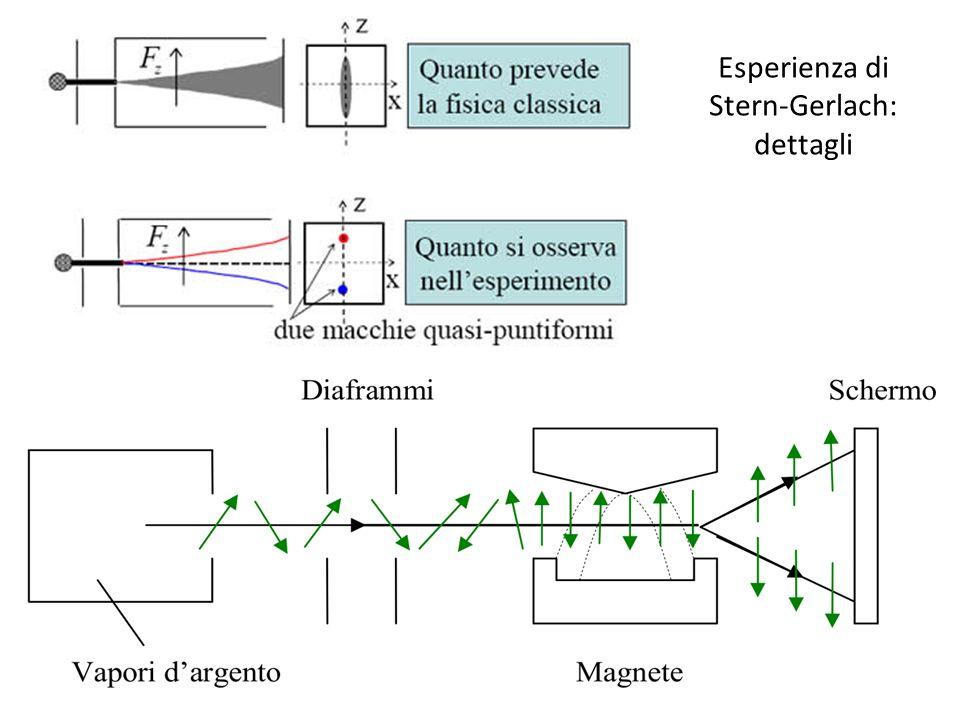 Esperienza di Stern-Gerlach: dettagli
