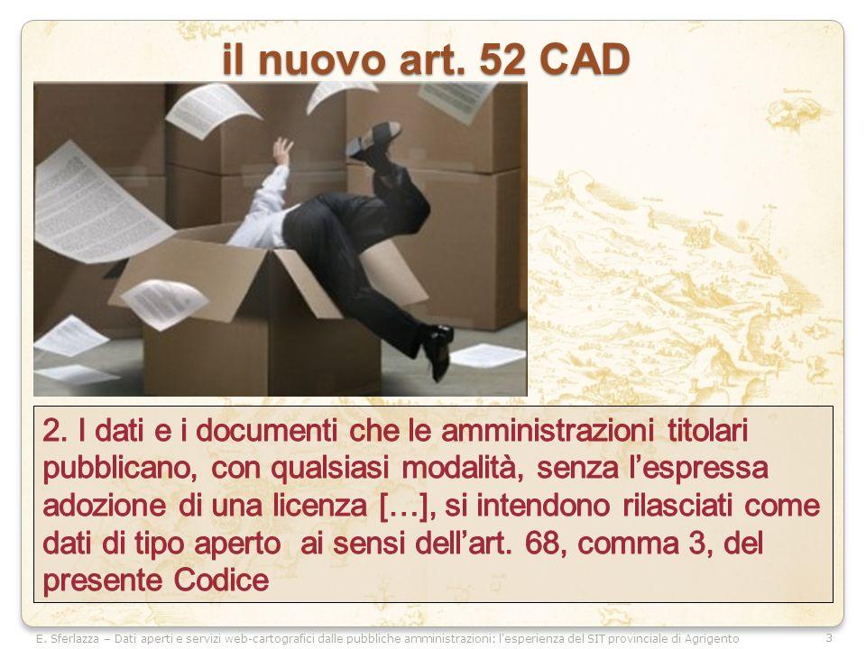 3 il nuovo art. 52 CAD