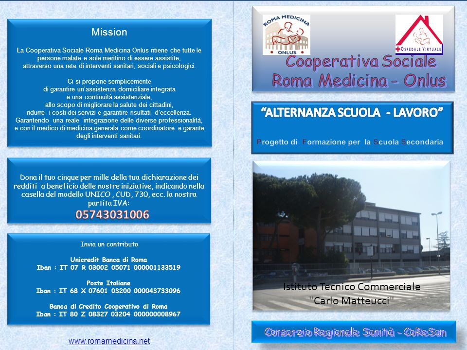 A cura di Romamed Service Soc.