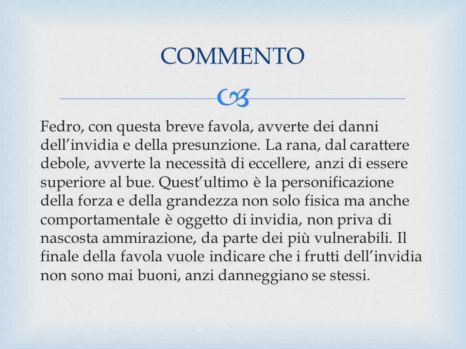 FEDRO La vita di Fedro, le fiabe, le favole e le opere Fedro (20 AC - 50 DC) stato un favolista latino attivo sotto Tiberio, Caligola, e Claudio.