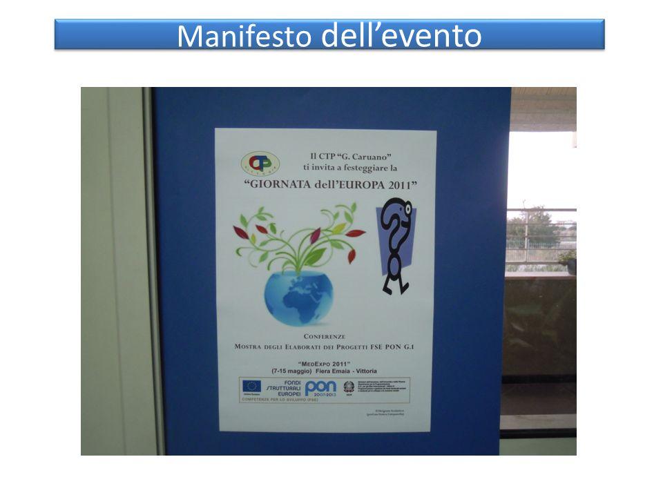 Manifesto dellevento