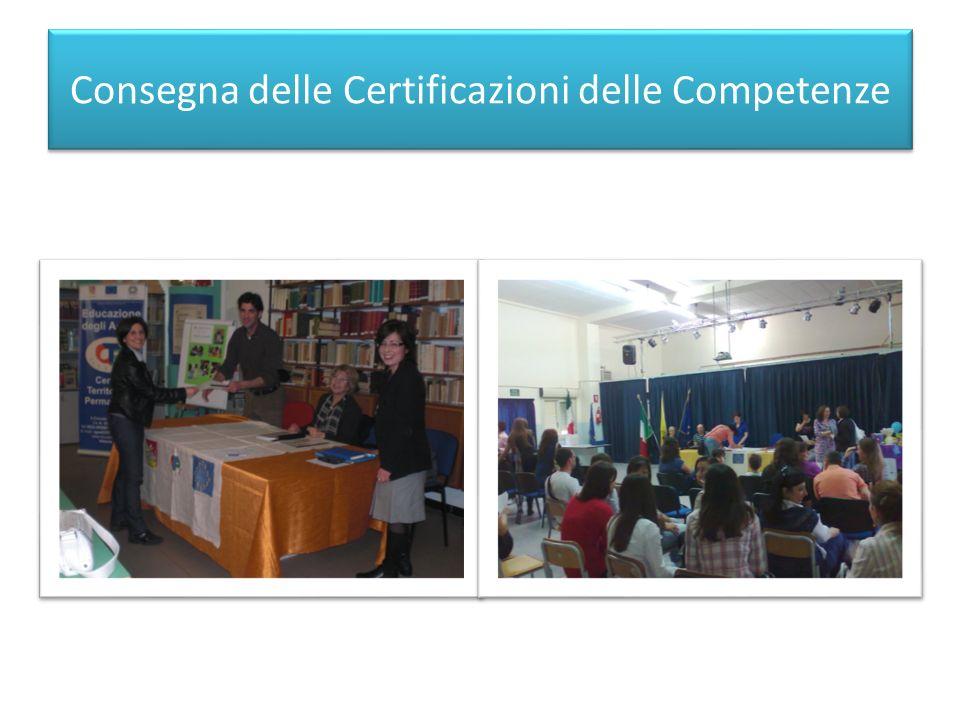 Consegna delle Certificazioni delle Competenze