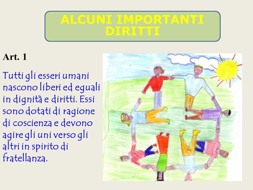 Gli articoli dal 28° al 30°, infine, danno delle disposizioni che riguardano la realizzazione di questi diritti.