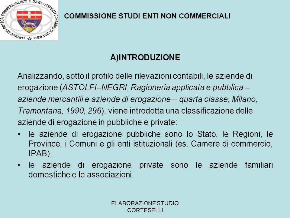 ELABORAZIONE STUDIO CORTESELLI REA La circolare n.