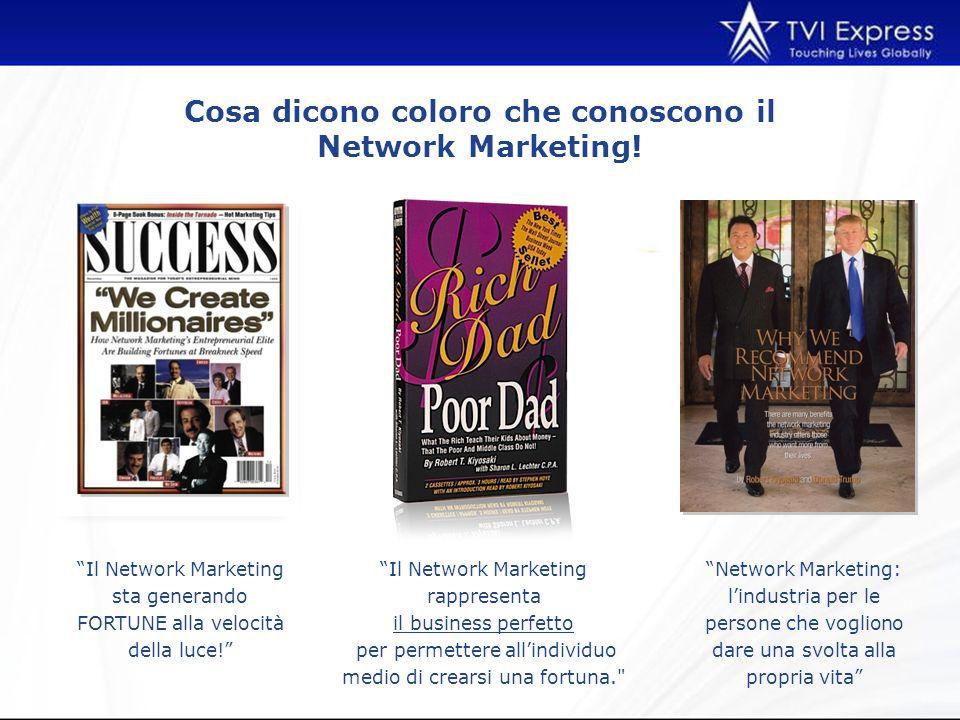 Cosa dicono coloro che conoscono il Network Marketing.