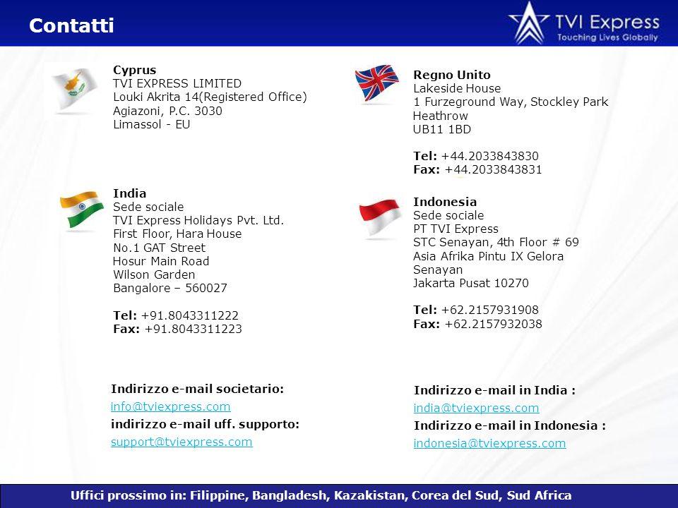 Indirizzo e-mail societario: info@tviexpress.com indirizzo e-mail uff. supporto: support@tviexpress.com info@tviexpress.com support@tviexpress.com Reg