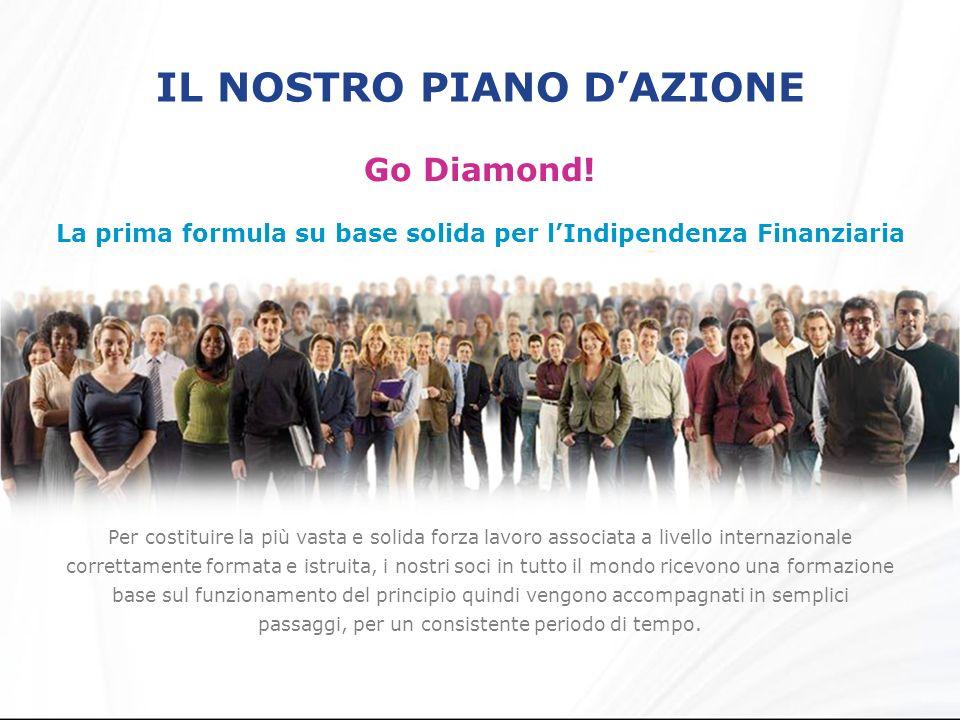 IL NOSTRO PIANO DAZIONE Go Diamond.