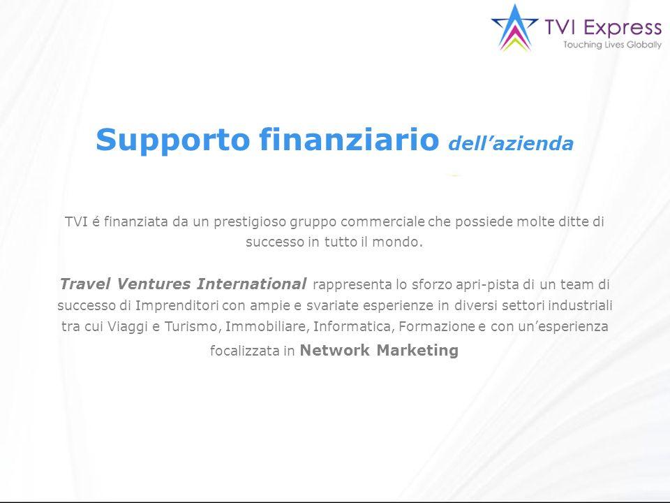 TVI é finanziata da un prestigioso gruppo commerciale che possiede molte ditte di successo in tutto il mondo.