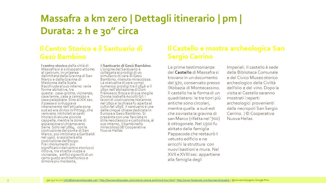 FalsoPepe | Km Zero | Pranzo Antipasti legati alla tradizioneOrecchiette al ragù di tre puntineTorta di meleAcqua e vino 392 347 22 71 | info@benvenutinpuglia.com | http://benvenutinpuglia.com/culture-nature-and-food-tour.html | http://www.facebook.com/benvenutinpuglia | @benvenutipuglia | Google Plusinfo@benvenutinpuglia.comhttp://benvenutinpuglia.com/culture-nature-and-food-tour.htmlhttp://www.facebook.com/benvenutinpuglia 6