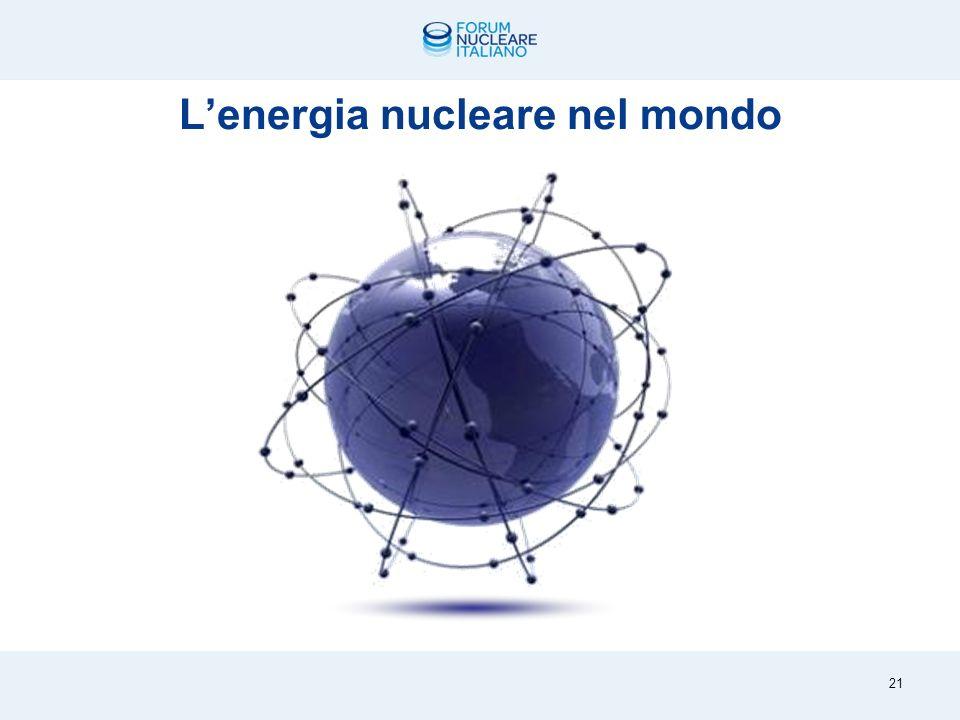 Energie pulite ad alta resa con produzione su larga scala 20 Idroelettrico, geotermico, nucleare, eolico, fotovoltaico, solare a concentrazione,