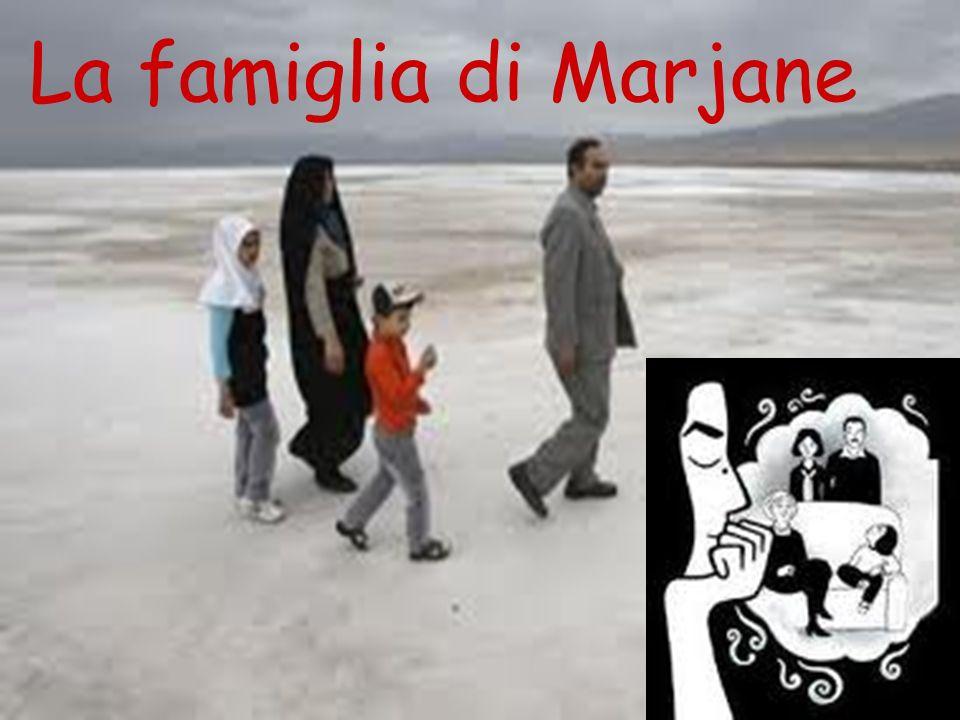 la famiglia La famiglia di Marjane