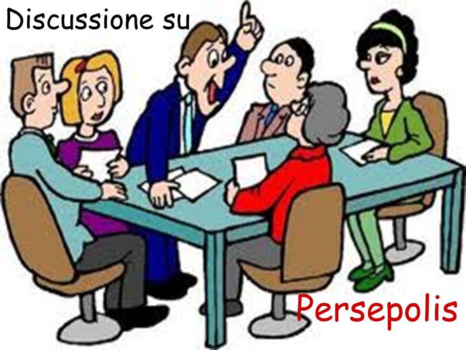 Discussione perse Discussione su Persepolis